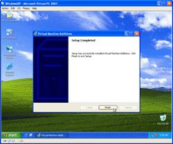 Finish Installing Virtual Machine Additions