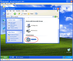 A Shared Folder on Virtual Machine