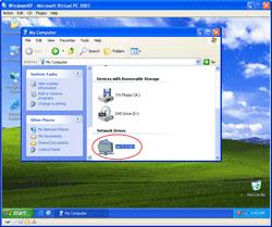 A Shared Folder on Virtual Machine