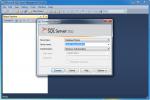 Connect to SQL Server using SQL Server Management Studio