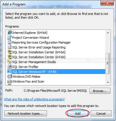 Enable Remote Connection on SQL Server 2012 Express
