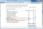 SQL Server and SQL Server Browser have been added to Windows Firewall Allowed Lists