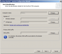 Configure Host Identification