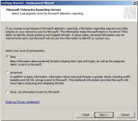 Microsoft Telemetry Reporting Services