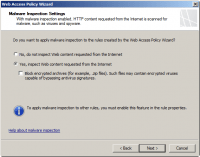 Enable Malware Inspection