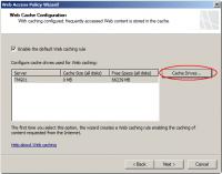 Configure Web Cache