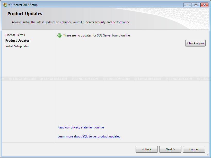 install sql server 2012 express