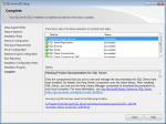 SQL Server 2012 Express is installed