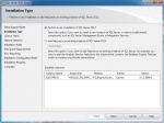 Perform a new installation of SQL Server 2012