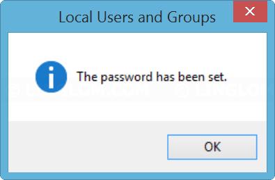 New password is set