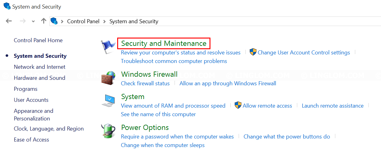Open Security and Maintenance