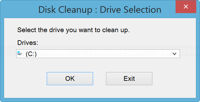 Select the OS drive