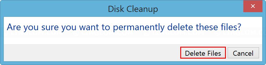 Click Delete Files