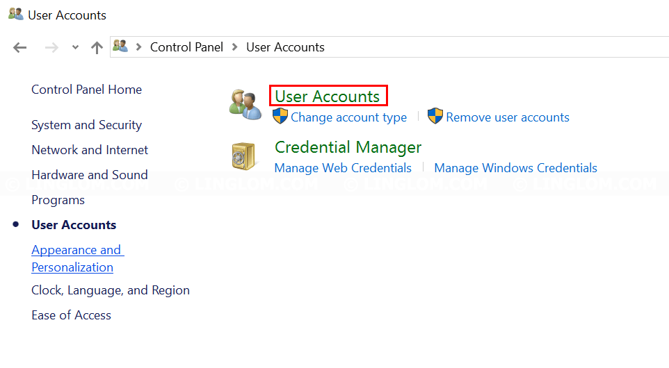 Open User Accounts