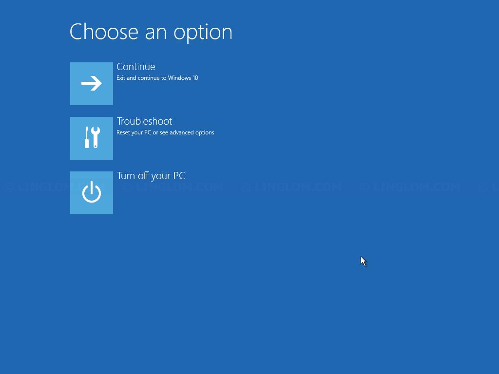 Open Command Prompt window