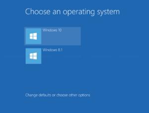 Select OS