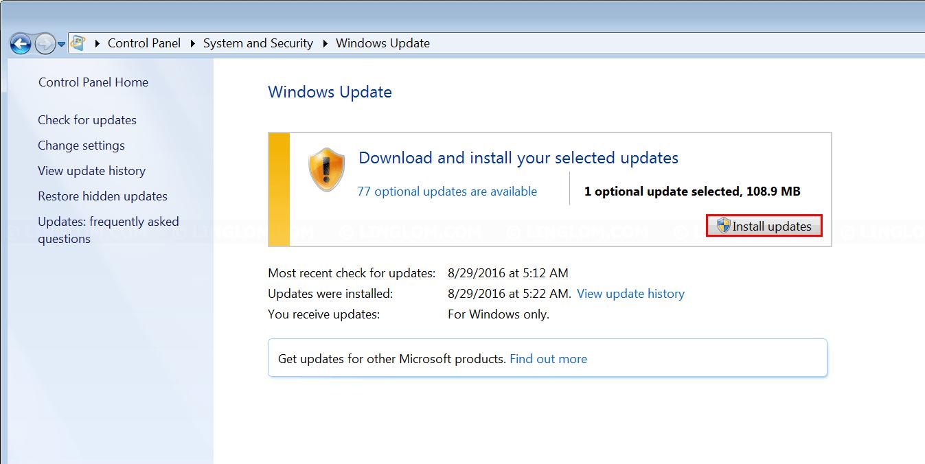 Change display language on windows 7 for Change windows