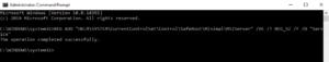 Add an entry in Windows registry