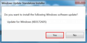 Install KB3172605