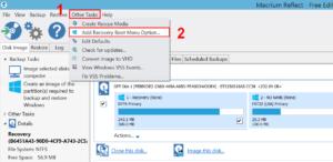 Modify boot menu