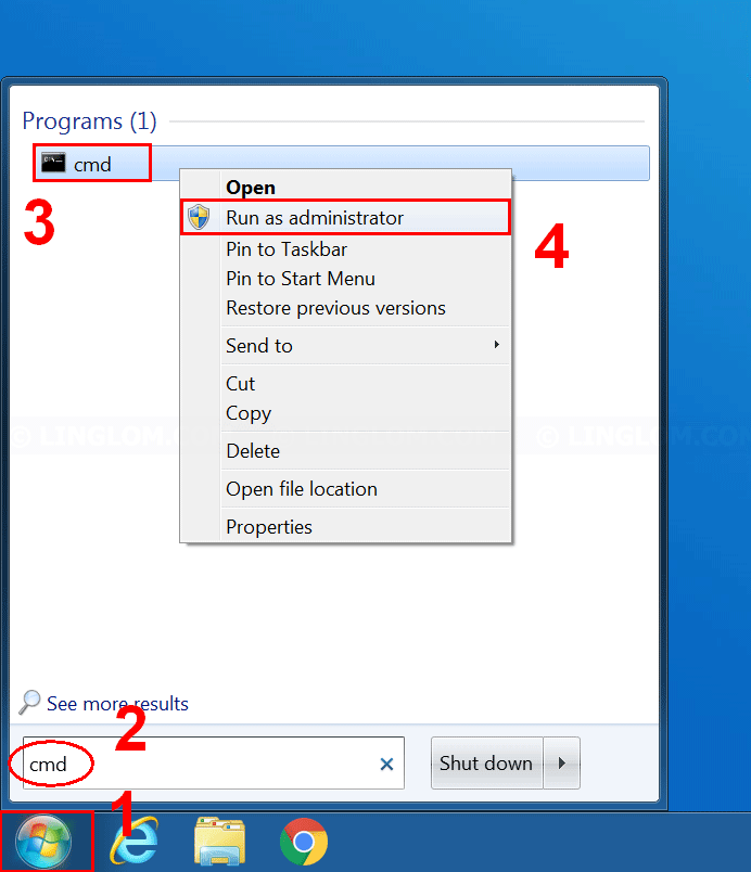 Remove or forget wireless network profile in Windows 7
