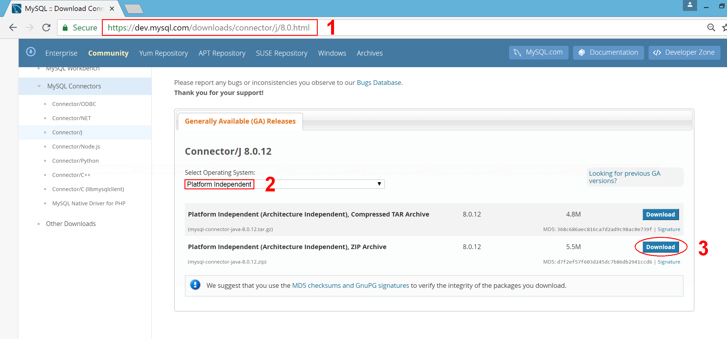 Accessing MariaDB on NetBeans 8 2 using JDBC, Part 2: Create